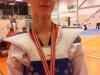 Kristoffer tok sølvmedalje
