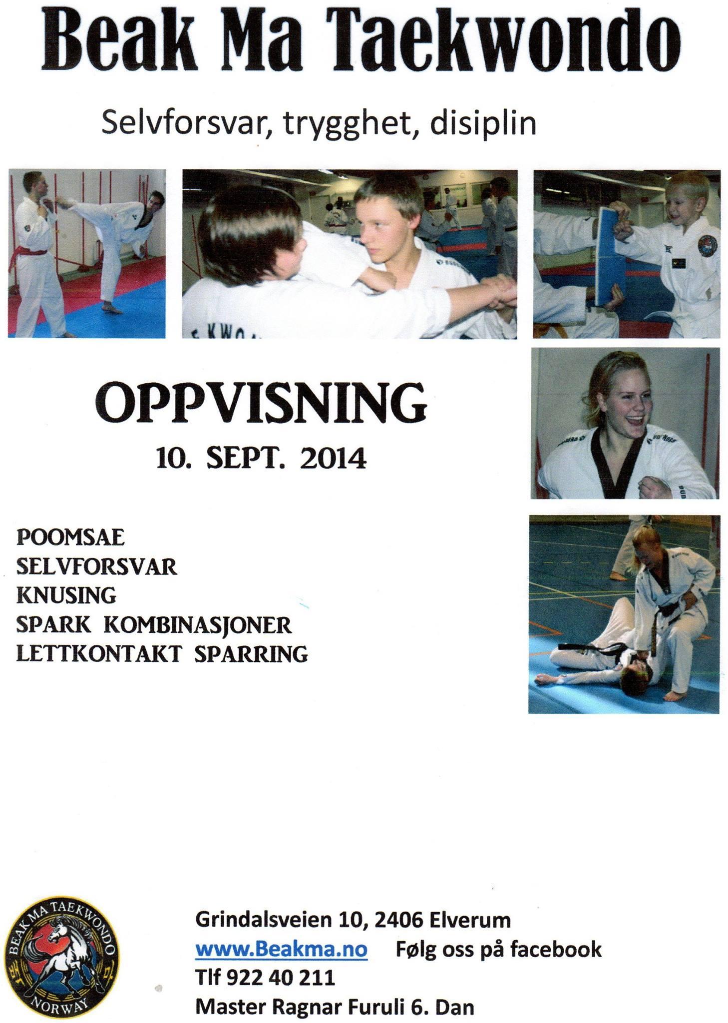 Oppvisning 10.09.2014